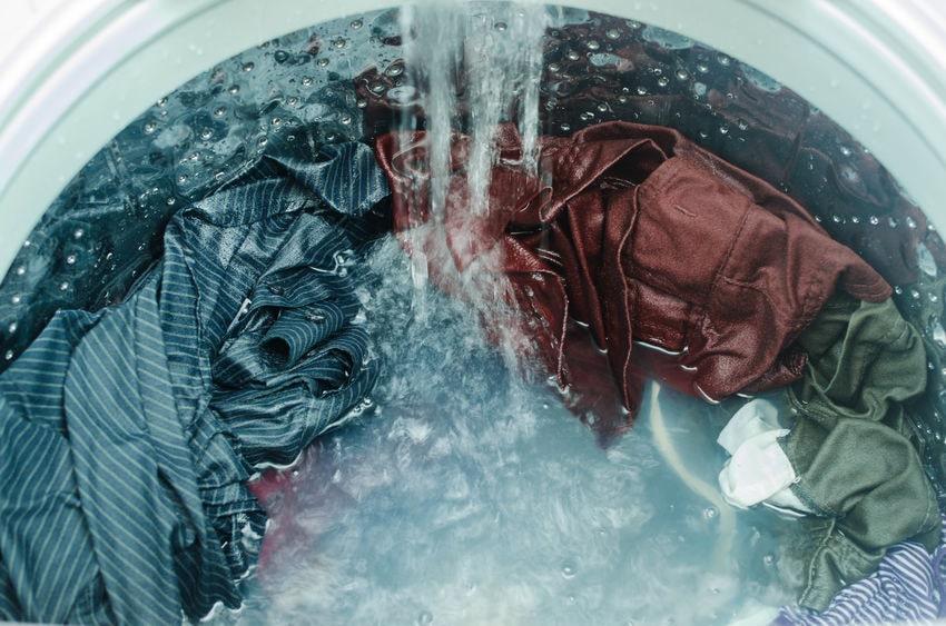 Rucksack waschen in der Waschmaschine