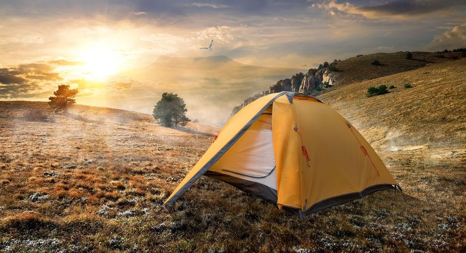 Anleitung zum Zelt imprägnieren mit Flüssigimprägnierer Methode