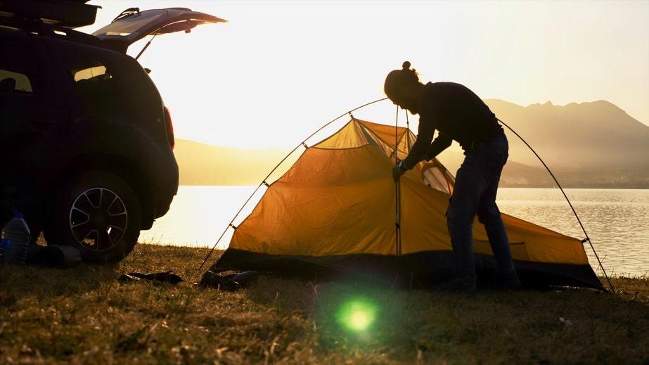 Zelt selber bauen