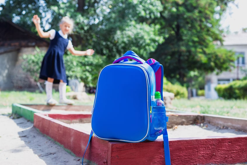 Blau Kinderrucksack